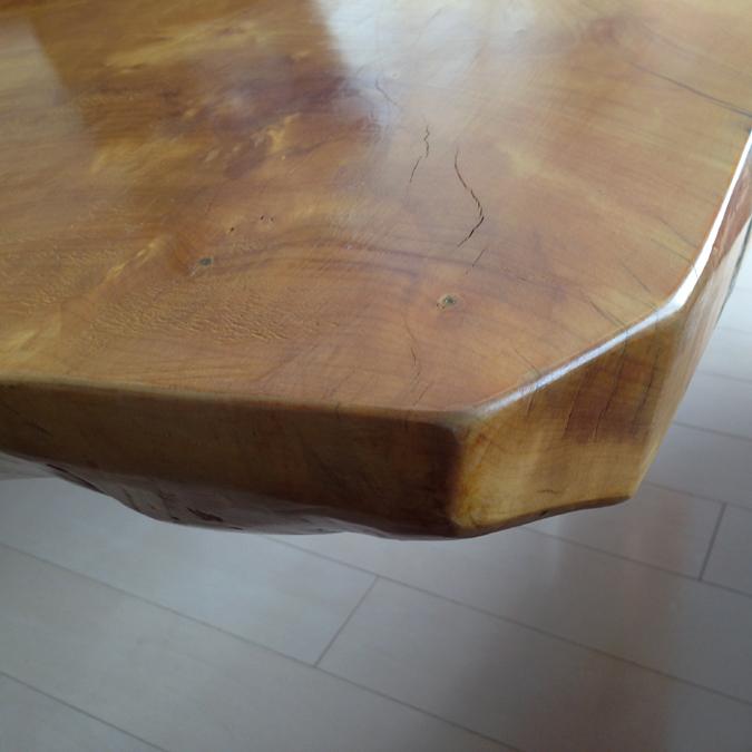 テーブルのコーナー