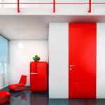 センスの良い赤のインテリアコーディネート厳選34実例