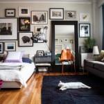 【一人暮らし・仕事部屋】ソファとベッドレイアウト3パターン&インテリア例