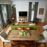 12畳正方形リビングダイニング適切な家具レイアウトアイデア10選