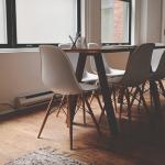 ダイニングテーブルの色-茶系天板×床の組み合わせ9パターン比較