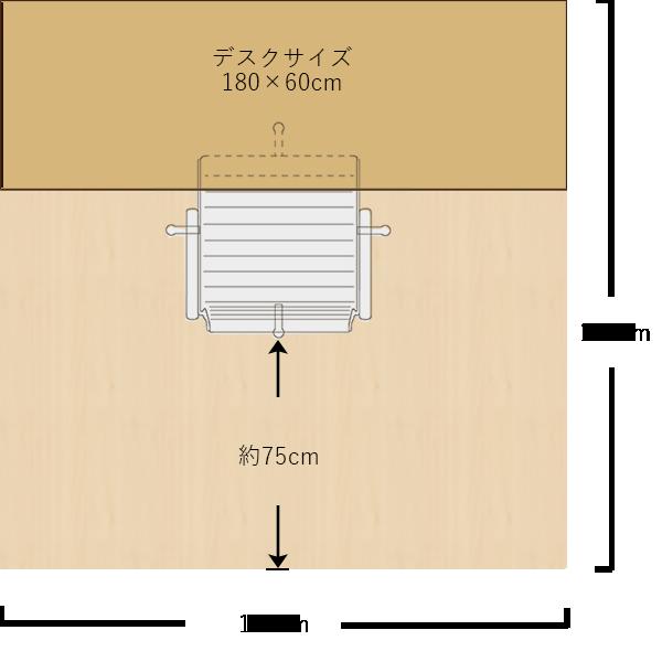 2畳分の書斎