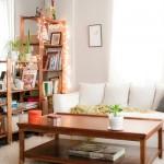 横長リビングの収納-壁面が少なくても収納家具を置く4つのアイデア