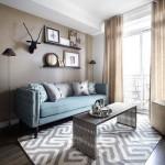 ダークブラウンの床に明るい家具vs濃い色の家具-白黒はっきりつけようぜ!!