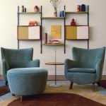レトロモダンインテリア-モダン家具で対応できる!色の選び方だけで作れる懐かしい空間