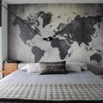世界地図インテリア【ワールドワイドで格好良い】海外実例47選