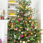 インテリアを格上げする【色別】クリスマスツリーの飾りつけ30選