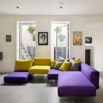 斬新な色使いが素敵!紫×黄色のインテリアコーディネート実例