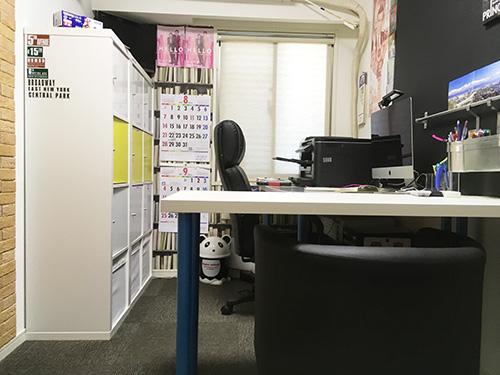 改装後の仕事部屋