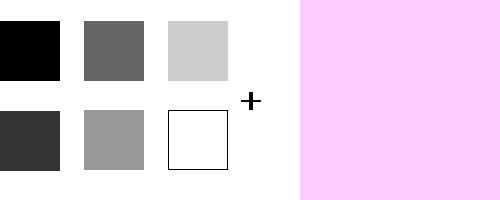 モノトーン+優しいピンク