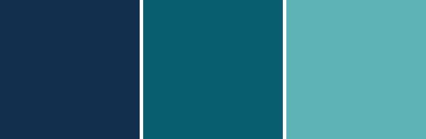 3種類の青②