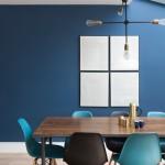 【床色&青の濃さ別】青い壁のおしゃれなインテリア厳選45例