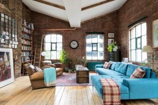 industrial-living-room