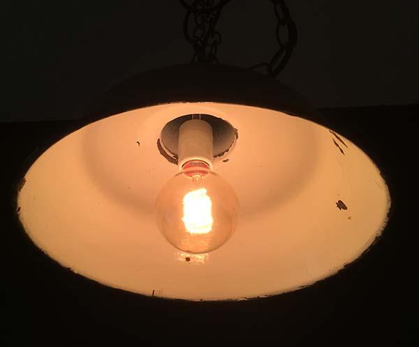 エジソンランプ60W点灯時