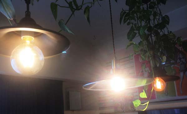 エジソンランプ・クリア電球・エジソンランプLED電球の比較