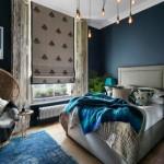 寝室にブルーを取り入れよう!安眠&開放感抜群インテリア39選