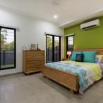 安眠効果3色をおしゃれにミックスした寝室インテリア30選