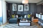 壁紙クロスの色選びの参考に。床色に合わせたインテリア118の実例